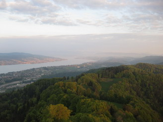 Uetliberg - great view in the evening
