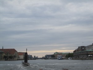 "Copenhagen is a port-city - so things like ""self-made U-Boat"" seems to be usuall there:"