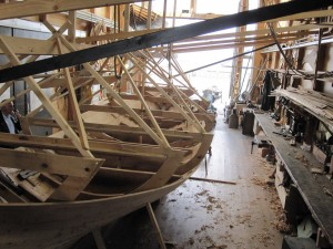 The process of viking-ship-building is covered in details