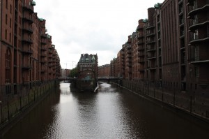 Storehouses in red brick