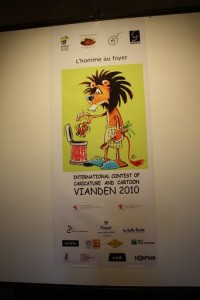 Hope this will be a tradition to exhibit winners of international contest of caricature and cartoon in the Castle in Vianden