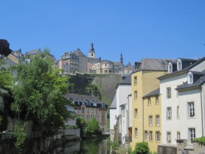Grund part of Luxembourg