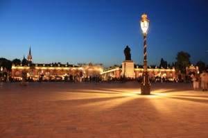 The Place Stanislas is in UNESCO World Heritage list is really nice especially in the night.