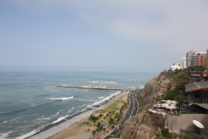 Ocean view from Miraflores shopping mal