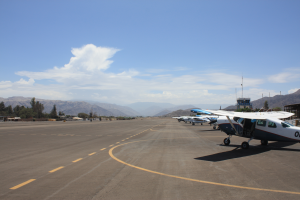 Book Nazca lines flight with local hotel - should cost about 85$