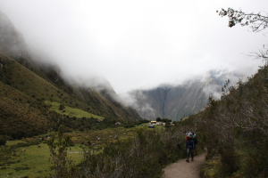 Tracking to Machu Picchu