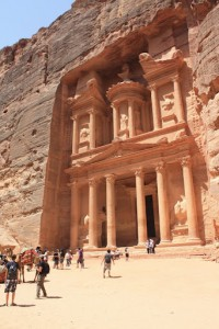 Is the most known touristic sight in Jordan (yes, it is the one you saw in Indiana Jones and the Last Crusade).