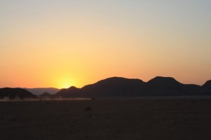 Wadi Rum. Impressive panoramic views are guarantied there. You will need to rent a jeep there or quadricycle.